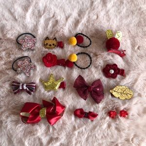 Hair accessories set